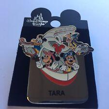 WDW - Monorail TARA Name Pin FAB 4 Mickey Minnie Goofy Donald Disney Pin 15004