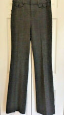 Gap High Rise Baby Boot Plaid Trousers Grey 8T 8 Tall