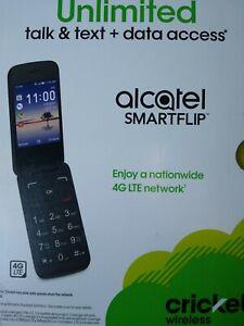 Cricket SMARTFLIP - 4GB - Volcano Black