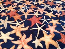 Fabric Starfish, sold by the yard