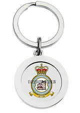 ROYAL AIR FORCE 501 COUNTY OF GLOUCESTER SQUADRON KEY RING (METAL)