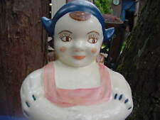 ''DUTCH GIRL'' AMERICAN POTTERY COMPANY COOKIE JAR  ''BEAUTIFUL GIFT''