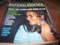 Screen Stories Magazine March 1971 Liz Taylor