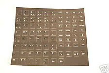 AZERTY Stickerset voor Laptop - Desktop Toetsenbord