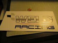 WELD RACING Sticker / Decal  Automotive  ORIGINAL old stock