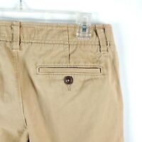American Eagle Khaki Chino Pants 29x32 Beige Flat Front Relaxed Straight A15-18
