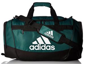 Adidas Defender III Green Medium Duffel Bag B3903