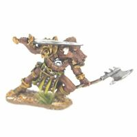 Minotaur with Sword and Axe Warhammer Fantasy Armies 28mm Unpainted Wargames