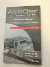 AQUACLEAR Instruction Manual  Mini/20 30/150 50/200 70/300 110/500