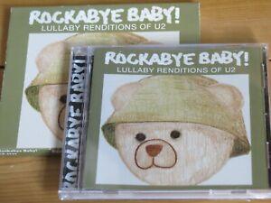 ROCKABYE BABY! lullaby renditions of U2 hits CD