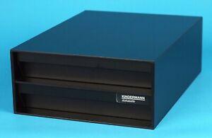 Kindermann DuKa Safe 20X25cm, Doppelbox Dunkelkammer Papiersafe Fotolabor. 13574