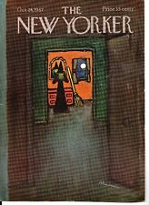 NEW YORKER MAGAZINE ORIGINAL COVER DATED 28TH OCTOBER 1967