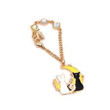 Anime Sailor Moon Luna Artemis Crystal Key Chain Women Bag Pendants Charm Cute