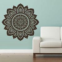 Wall Decal Vinyl Sticker Mandala Menhdi Flower Om Indian Hindu Buddha (Z2842)