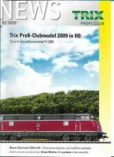 Trix News Profi-Club 02/2009 Magazine Nederlands