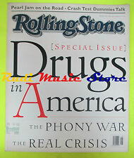 ROLLING STONE USA MAGAZINE 681/1994 Drug in America Pearl Jam  No cd