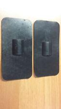 Non adesive grandi ELETTRODI. Pacco di due dimensioni 95 x 49mm.