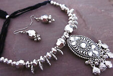 Choker Necklace Costume Jewelry Tribal Fusion Boho Kuchi Gypsy Festival Fashion