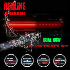 "60"" Flexible LED Tailgate Light Bar Turn Signal Brake Reverse Lamp for Truck SUV"