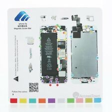 High Quality Magnetic Screw Mat Technician Repair Pad Guide For iPhone 5
