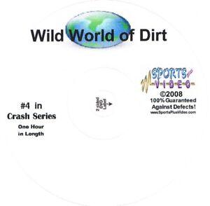 Wild World Of Dirt Crash DVD Non Stop Speedway Crashes