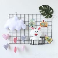 1Pcs Cloud Love Heart Star Nursery Mobile Wall Hanging Decor Shower Decoration