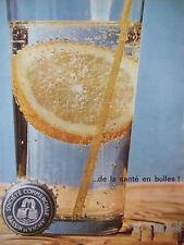 PUBLICITÉ DE PRESSE 1962 SAINT-YORRE DE LA SANTÉ EN BULLES - ADVERTISING