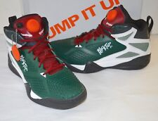 VNDS Reebok Blacktop Retaliate PE Boston Pump Dark Green/White/Red/Silver sz 11