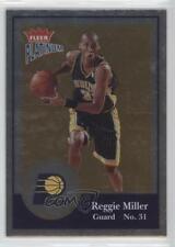 2003-04 Fleer Platinum Finish /100 Reggie Miller #126 HOF