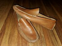 EUC Mens Shoe POLO RALPH LAUREN Terence Driving Moccasins BROWN Loafers 10.5