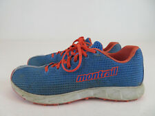 Montrail GL2143-485 Trail Running Athletic Shoes Lace Up Blue Womens Size 8