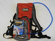 Camelbak Lobo New With Tags  2L of Water for Hiking or Bike Riding - Red/Gray