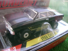 Autoworld Black 66 Box Nova SS HO Thunderjet Slot Car Runs on Aurora Tomy AFX