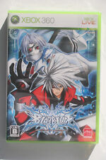 BlazBlue Calamity Trigger Xbox 360 Japan NTSC in Like New and Complete Condition