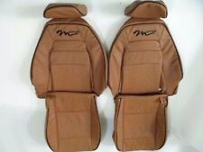 1990-1995 Mazda Miata M-Edition Synthetic Leather Tan Seat Covers-M-Edition logo