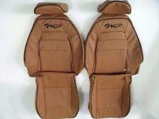 1990-1995 Mazda Miata M-Edition Genuine Leather Tan Seat Covers-M-Edition logo