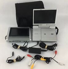 Durabrand Portable DVD Player for Cars/Home  Dual 7 With  Case and Charger