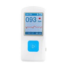 USA LCD PM10 Portable ECG EKG Machine Heart Rate Beat Monitor Bluetooth FDA