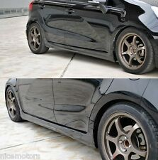 Aero Parts Side Door Skirt Unpainted For KIA Rio Hatchback 2012 2016