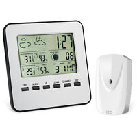 1pc Digital LCD Indoor Thermometer Hygrometer Room Temperature Humidity Meter
