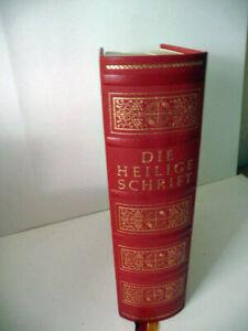 Bibel - Die heilige Schrift - AT + NT - im Schuber mit Goldschnitt