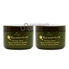 """Hair Chemist Macadamia Oil Deep Repair Masque 8oz """"Pack 2"""" w/ Free Nail File"""