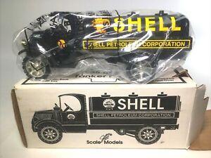 Joseph Ertl Shell Gasoline 1935 Mack Tanker Bank - American Classic