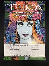 Helikon Art Show Paris Poster Morgana Widespread Panic Poster Chuck Sperry Wood
