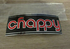 Yamaha Chappy LB50 LB80 Auspuff Emblem Schriftzug Original NEU