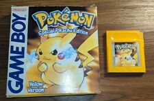 Genuine Pokemon Yellow Nintendo Gameboy En Caja Sin Manual