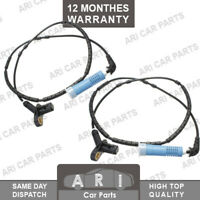 2X ABS SPEED SENSOR REAR FITS BMW 3 SERIES E46 (1998-2007) 34526752683