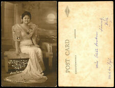 Philippines 1936 Manila Carnival Queen Virginia Cruz RPPC