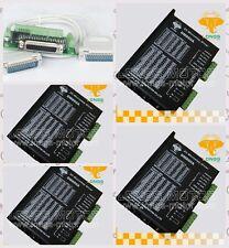 4PCS Stepper Motor Driver DM860A 7.8A 256micsteps 24~80VDC Nema34 CNC Kit LONGS