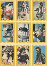 Grease Series 2 - The Movie - Complete 11 Sticker Card Set - 1978 Topps - NM